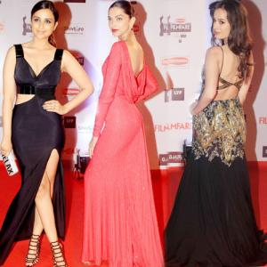15 B-town hottie at 61st britannia filmfare awards 2016 Slide 1