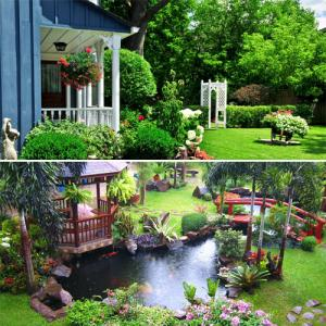 Vastu principles for a garden and bring happiness in house