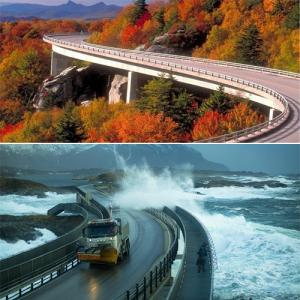 Most Breathtaking and awesome highways of world