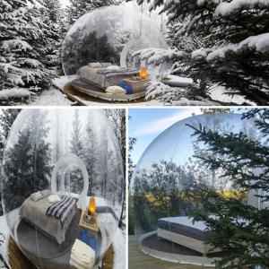 Iceland's stunning BUBBLE hotel where you can sleep in a bubble