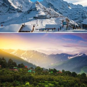 Most stunning places for winter vacations in India