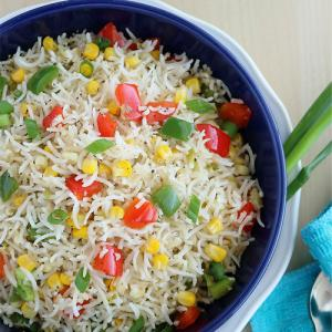 Sweet corn fried rice recipe