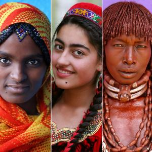 Incredible portraits of people from different corners of the earth