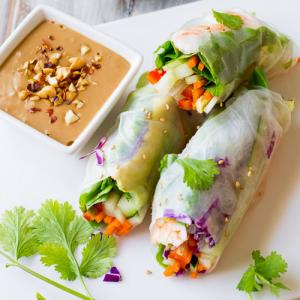 Recipe of rice roll