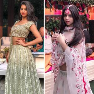 Suhana Khan's wedding style, outfit inspiration for 2018