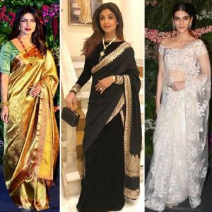 Latest Saree trends, you got to hack from these Bollywood beauties