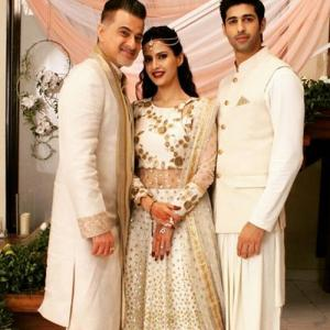 Ahana and Rihaan share kissing moment