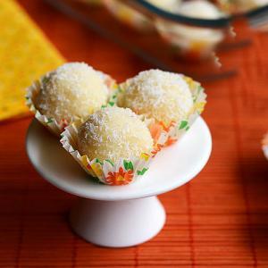 Make Coconut ladoo at home