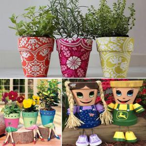 5 Creative Ideas To Make Flower Pots For Home Slide 1