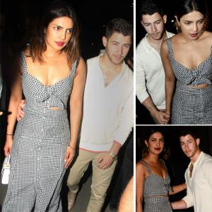 It's Official! Priyanka Chopra and Nick Jonas walk hand-in-hand for dinner date