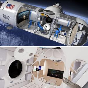 See pics: The world's first luxury space hotel, offer zero gravity living
