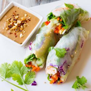 Recipe of delicious rice roll