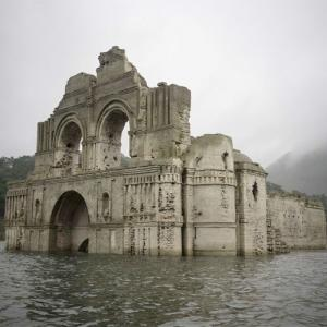 Marvellous buildings that emerged from water