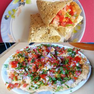 Yummy masala papad recipe