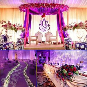 Simple yet stunning wedding hall decorations ideas in a low budgets