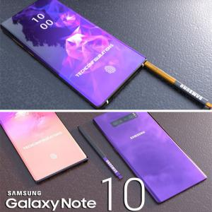 Galaxy Note 10 will come with dual 3D ToF sensors, time-of-flight cameras, lens maker