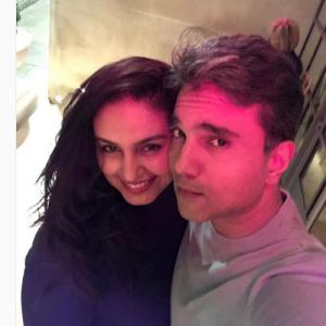Huma Qureshi makes her relationship official with Mudassar Aziz