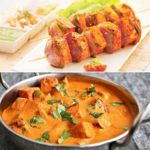 Cooked in tandoori style: Paneer Tikka Masala recipe
