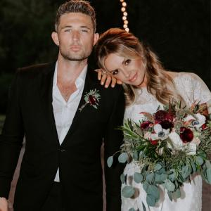 Michael Ray tied the knot with Carly Pearce