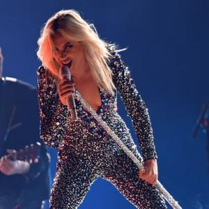 OMG! Lady Gaga falls off stage while dancing