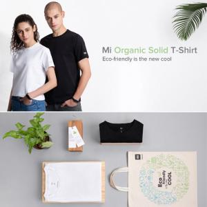 Xiaomi starts selling eco-friendly Mi organic solid T-shirt for Rs. 499 in India