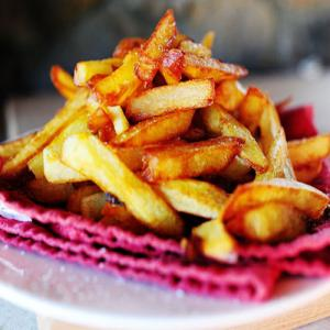 American crispy french fries recipe