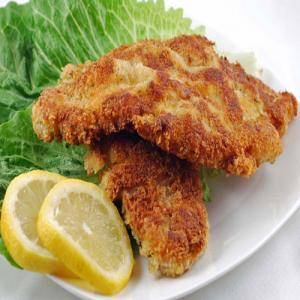 Cutlet recipe: Mashed potato and green vegetable