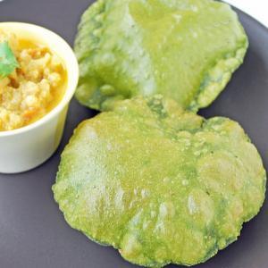 Winter special recipe: Spinach puri