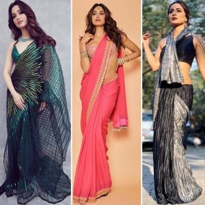 8 Dramatic Saree Draping Trends