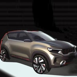 Kia Motors unveils design for its compact SUV concept, 7 new features