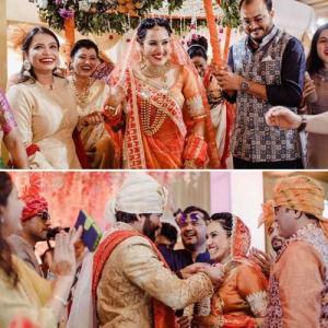 Kamya Panjabi's dreamy wedding ceremony in 7 pics