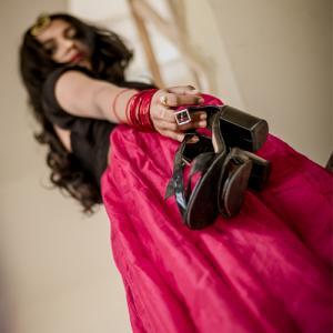 Perfect fashion accessories with ethnic attire