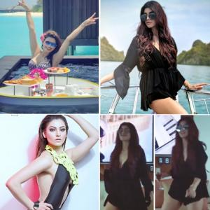 Akanksha Puri's killer dance moves and Urvashi Rautela's bikini pics will take away your quarantine blues