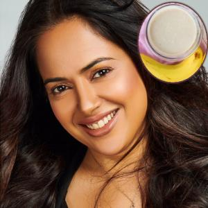 Sameera Reddy share low-cost homemade hair mask for thick and shiny hair