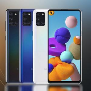 Samsung Galaxy A21s launched with 48MP camera, 5000mAh battery, OLED infinity-O display