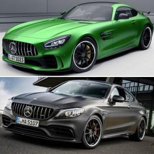 Mercedes-AMG C 63 Coupe, Mercedes-AMG GT R launched in India with 7 unique features