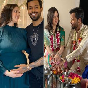 Hardik Pandya announces marriage and pregnancy with Natasa Stankovi, see in 7 pics