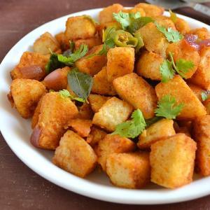 Fried Masala Idli Recipe