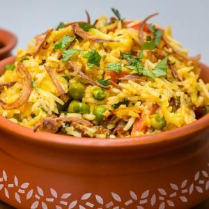 Restaurant style Hyderabadi Vegetable Biryani Recipe