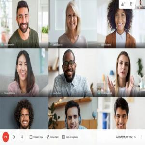 Google Meet video calls now allow you to view up to 49 participants on a single screen