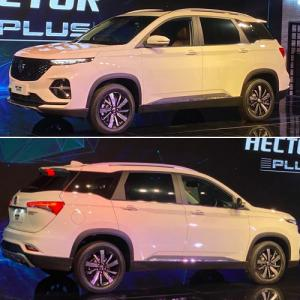MG Hector Plus launched in India with 7 smart features