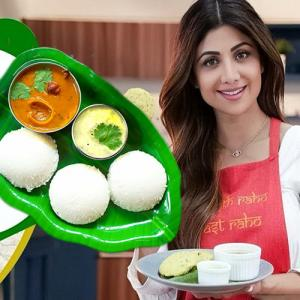 Recipe: Shilpa Shetty share healthy version of idli for breakfast