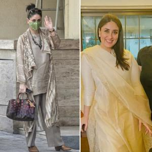 Kareena Kapoor sets maternity fashion goals in 3 gorgeous outfits