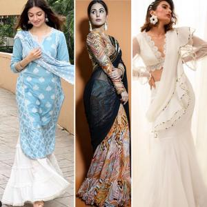 9 Best outfits for Diwali puja and parties