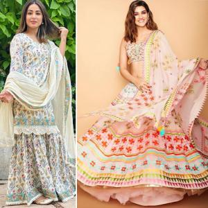7 Forever classic ethnic wear in light colors, try this festive and wedding season