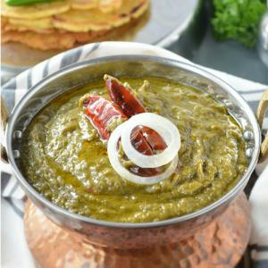 Punjabi Sarson Da Saag Recipe