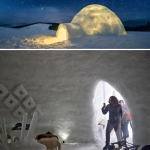 A new place to chill out, Kashmir hotel lures tourists with igloo cafe