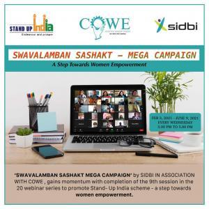 'SWAVALAMBAN SASHAKT MEGA CAMPAIGN' BY SIDBI IN ASSOCIATION WITH COWE INDIA