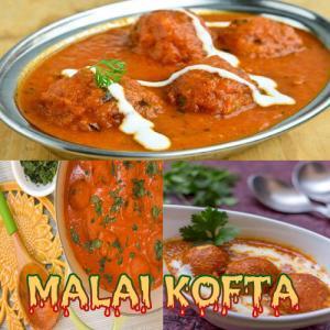 Malai kofta curry