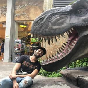 Dino Boy Kartik Aryan Shared A New Insta Post: Check Out What It Is